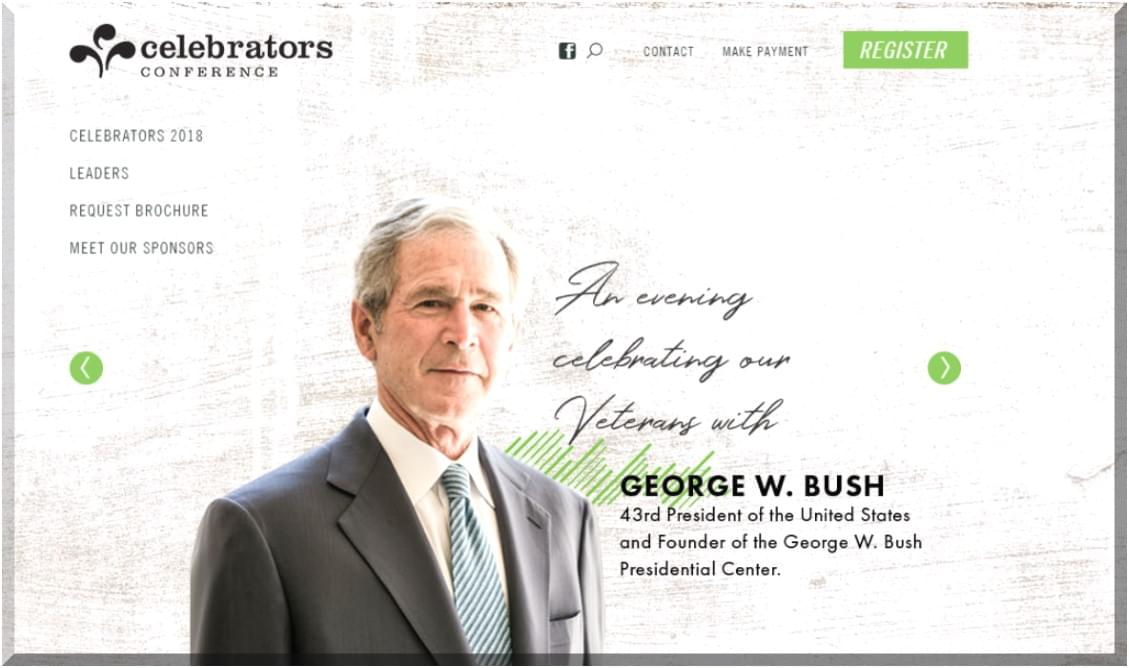 President Bush to Speak in Pigeon Forge
