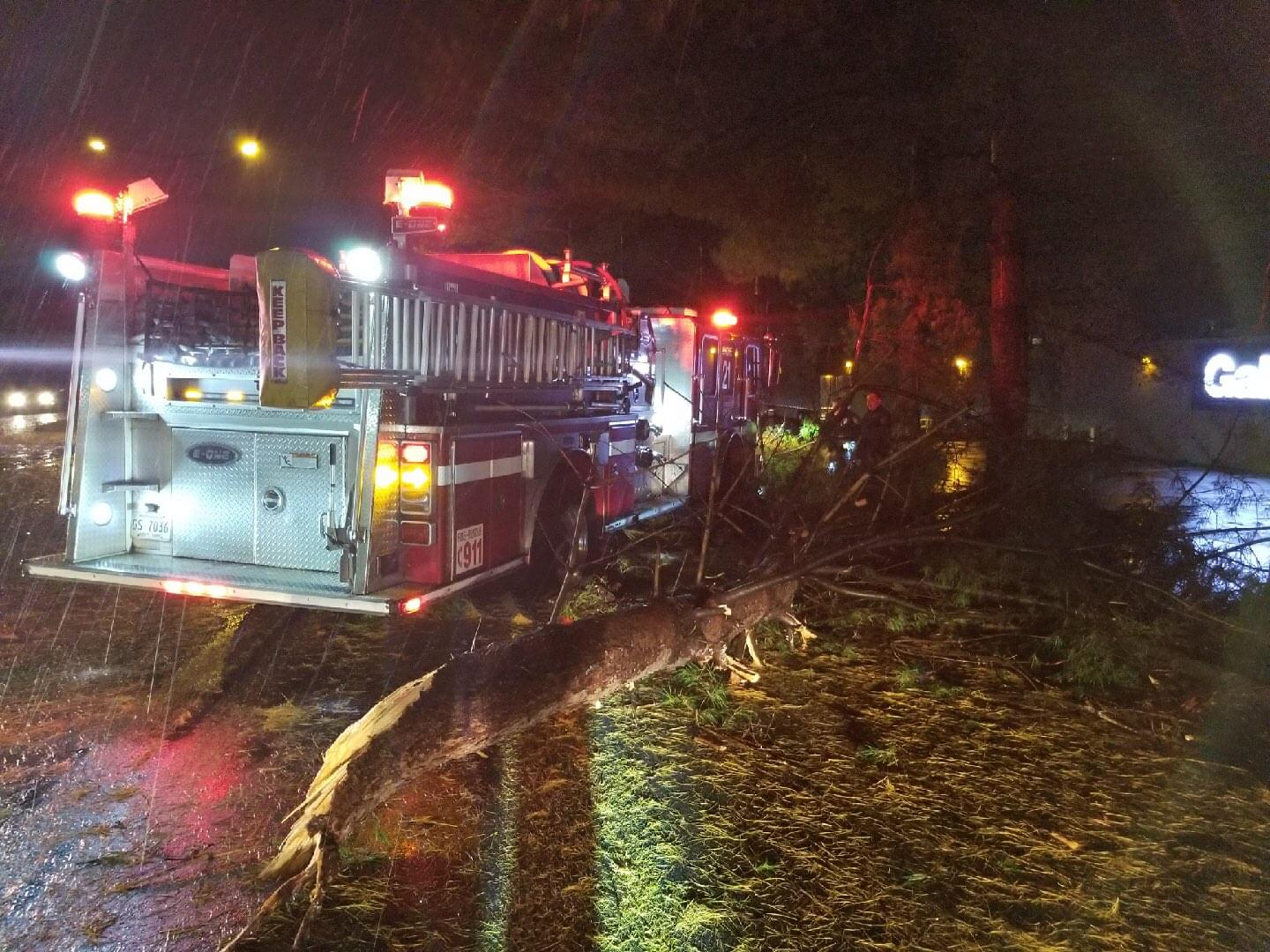 Strong Storms Leave Damage Behind