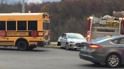 Knox County School Bus Involved in Accident