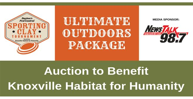 Knoxville Habitat Ultimate Outdoors Package