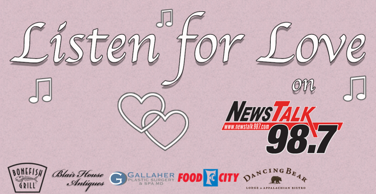 Listen for Love on 98.7!