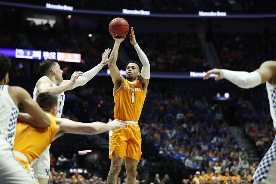 Vols Rally Late to Advance to SEC Championship with 82-78 Victory vs. No. 4 Kentucky