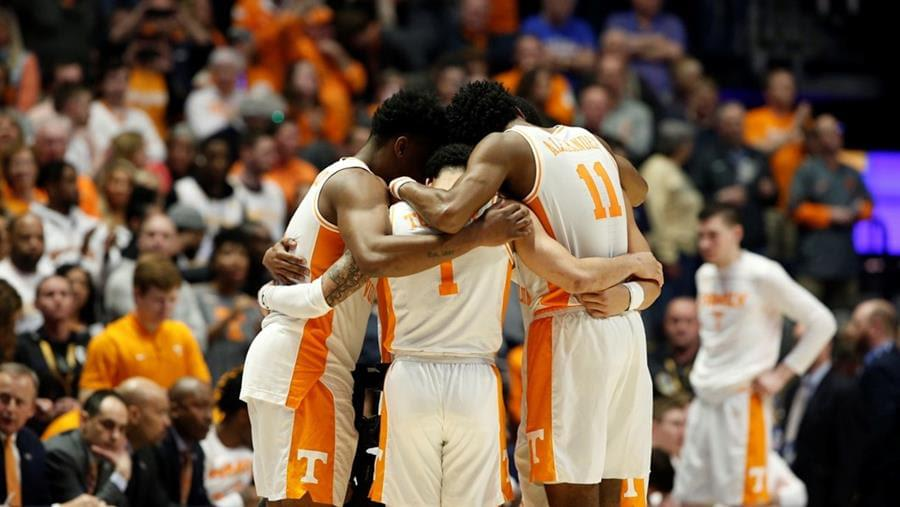 Vols Earn No. 2 Seed in NCAA Tournament, Will Face Colgate