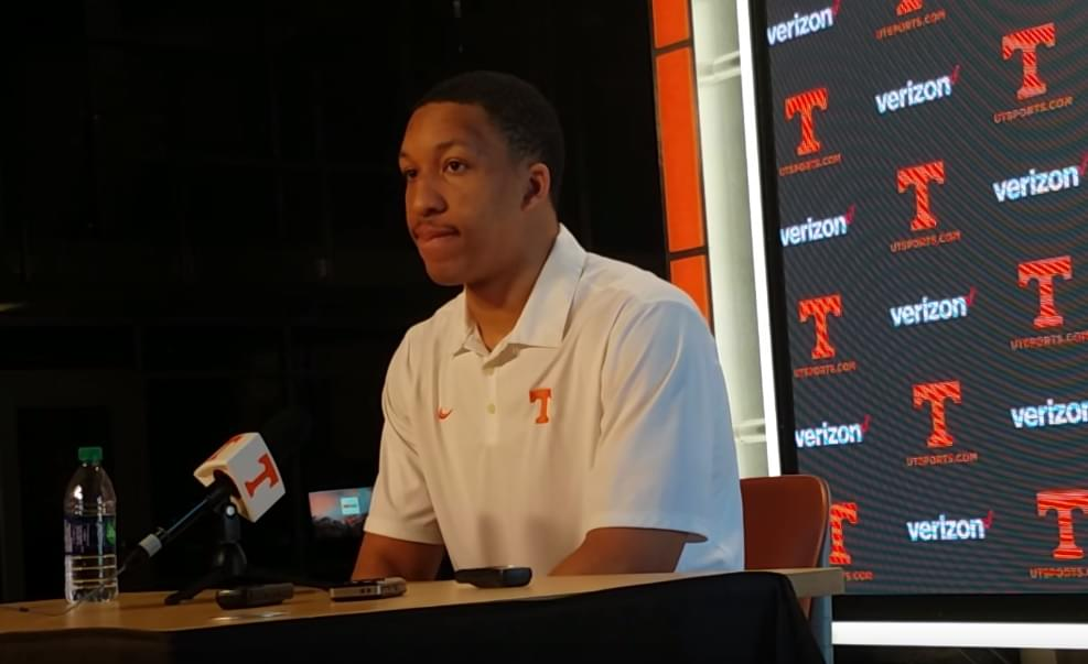 Video: Grant Williams looks back on SEC title game, previews NCAAs