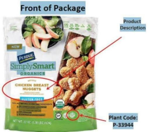 Perdue Recalling Over 30,000 Pounds of Chicken