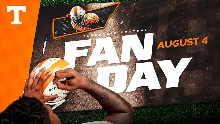 UT Football Announces 2019 Fan Day for Aug. 4
