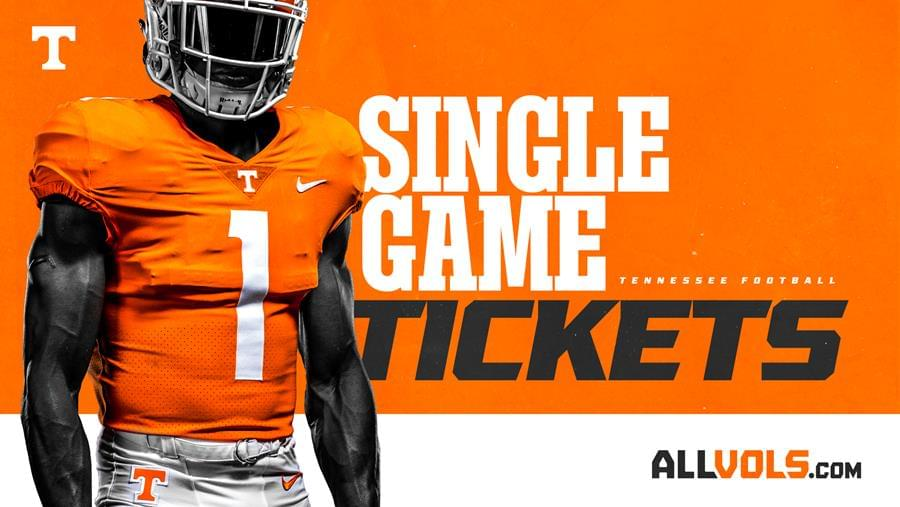Tennessee Football Single-Game & Season Tickets on Sale Now