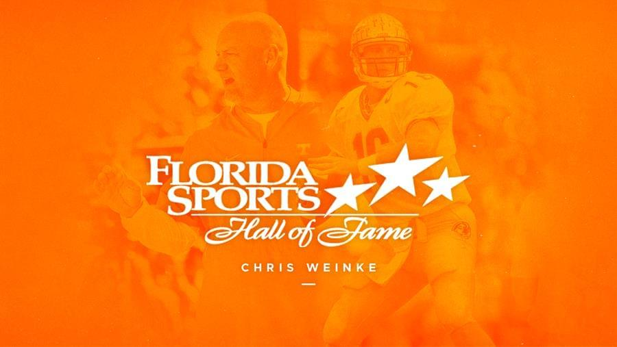 Weinke Announced as Member of 2019 Florida Sports Hall of Fame Class
