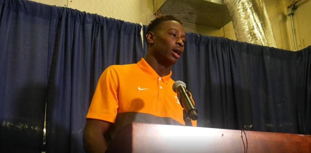 Audio: Theo Jackson – Florida loss postgame