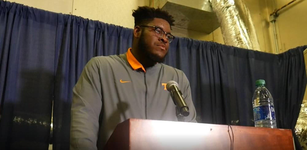 Audio: Trey Smith – Florida loss postgame