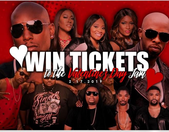 Win Tickets to the Valentine's Day Love Jam