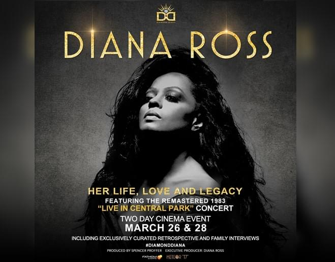 Win Diana Ross: Her Life, Love and Legacy Movie Passes