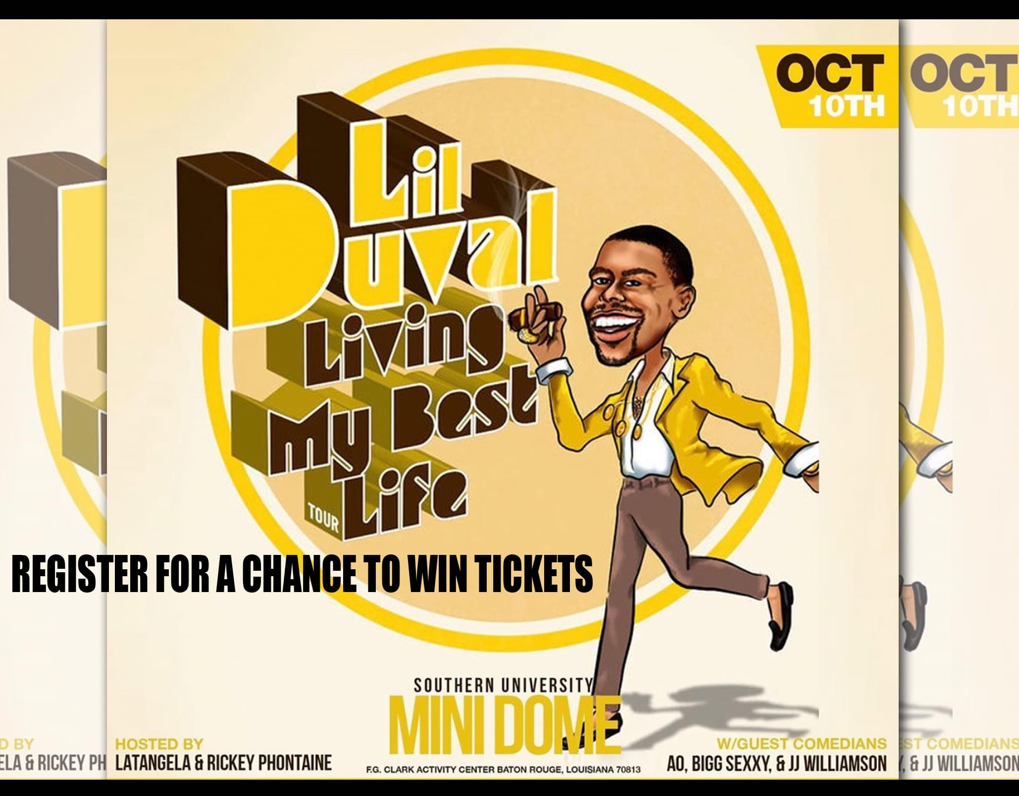 Win Tickets to See Lil Duval