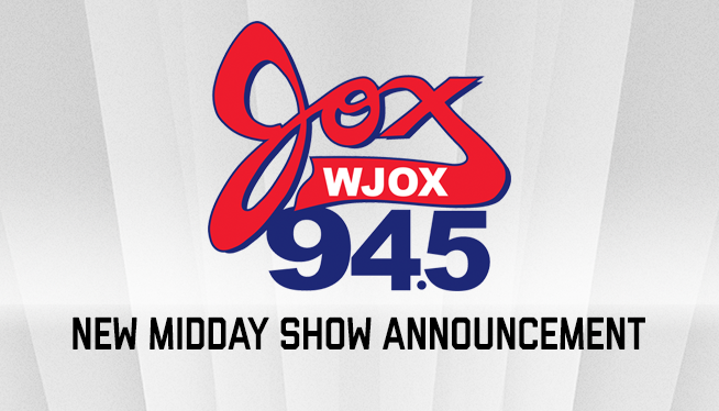 Jox 94.5 Announces New Midday Show