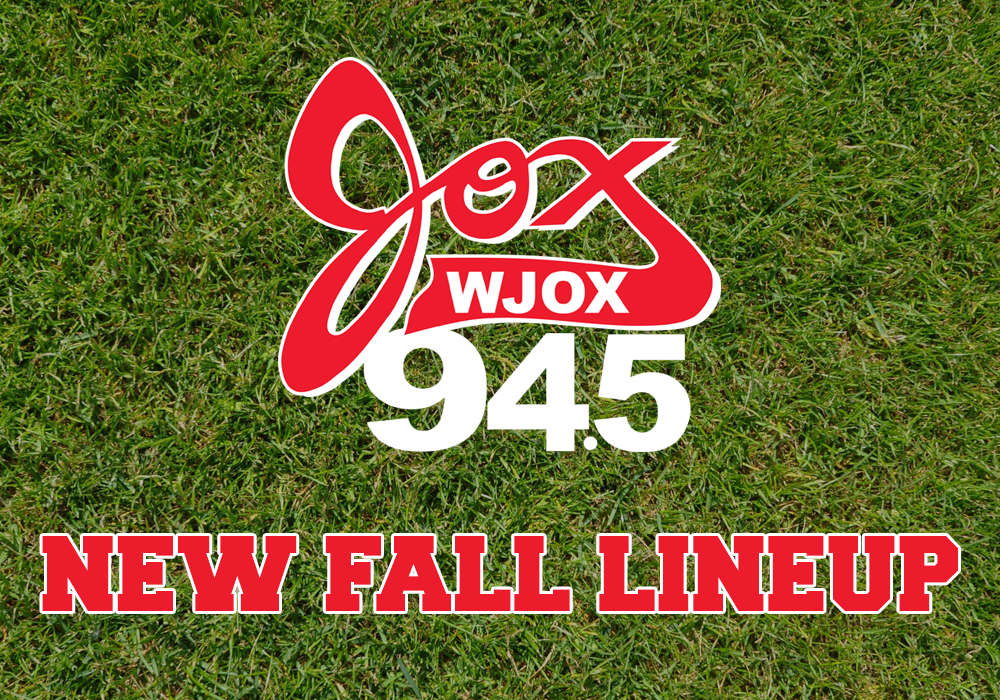 New Fall 2019 Jox 94.5 Lineup