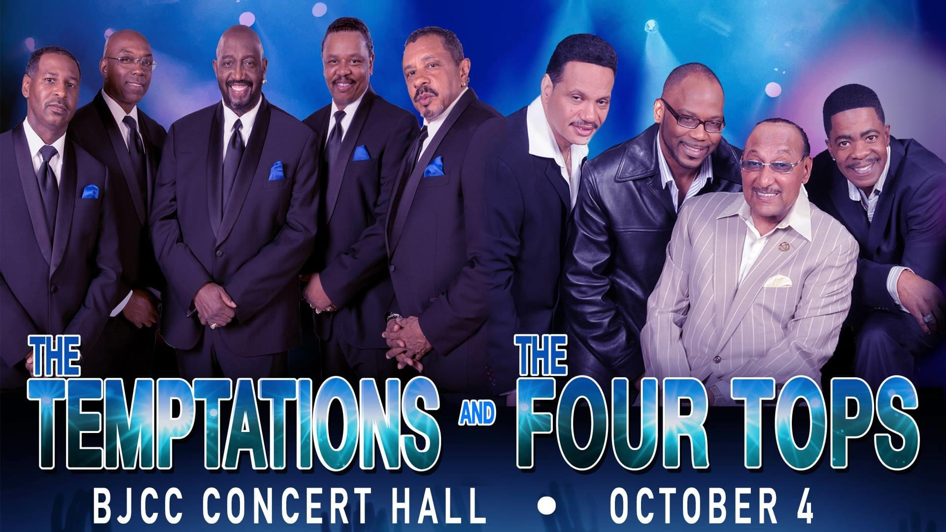 Win Tickets To The Temptations and The Four Tops