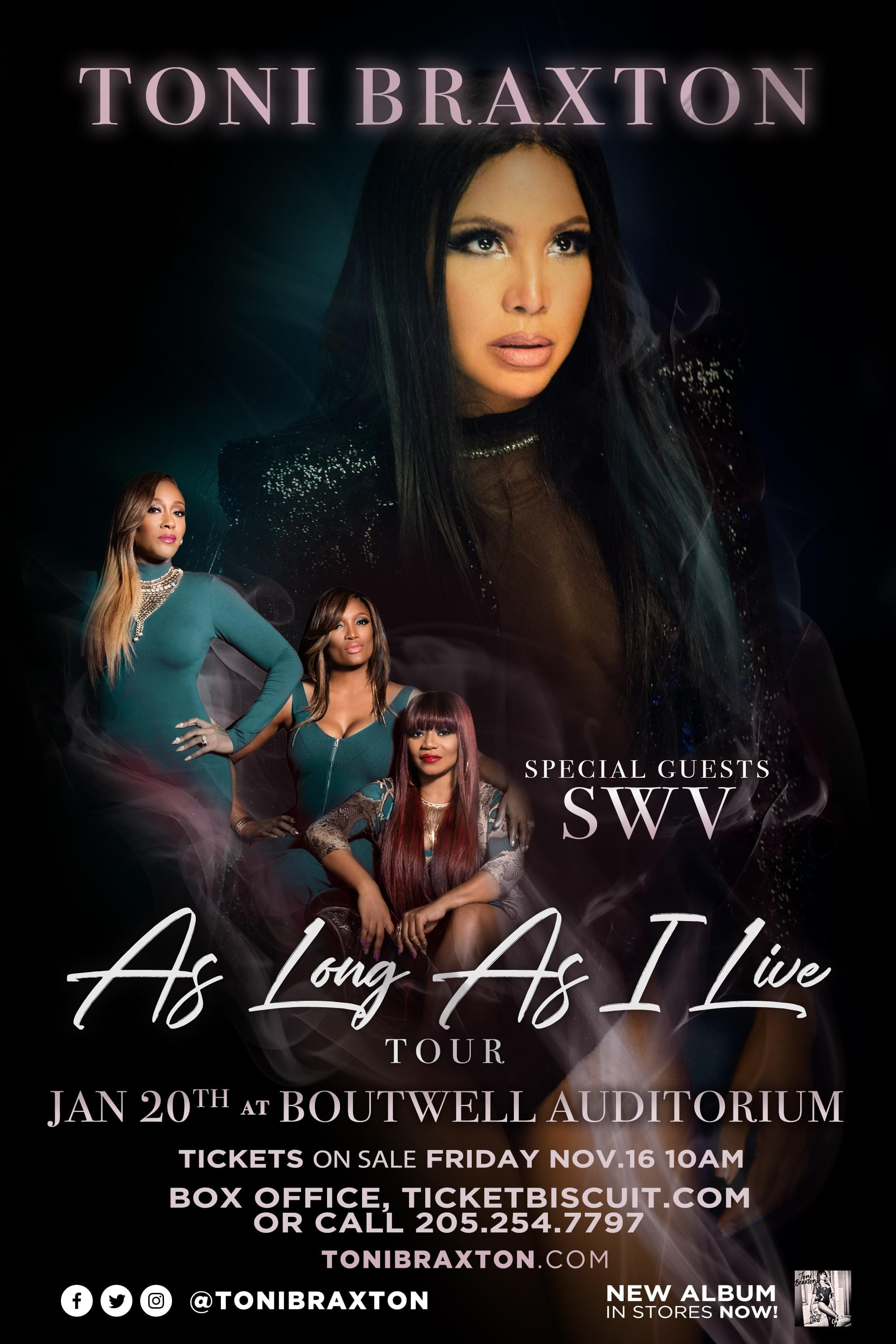 Toni Braxton and SWV at Boutwell