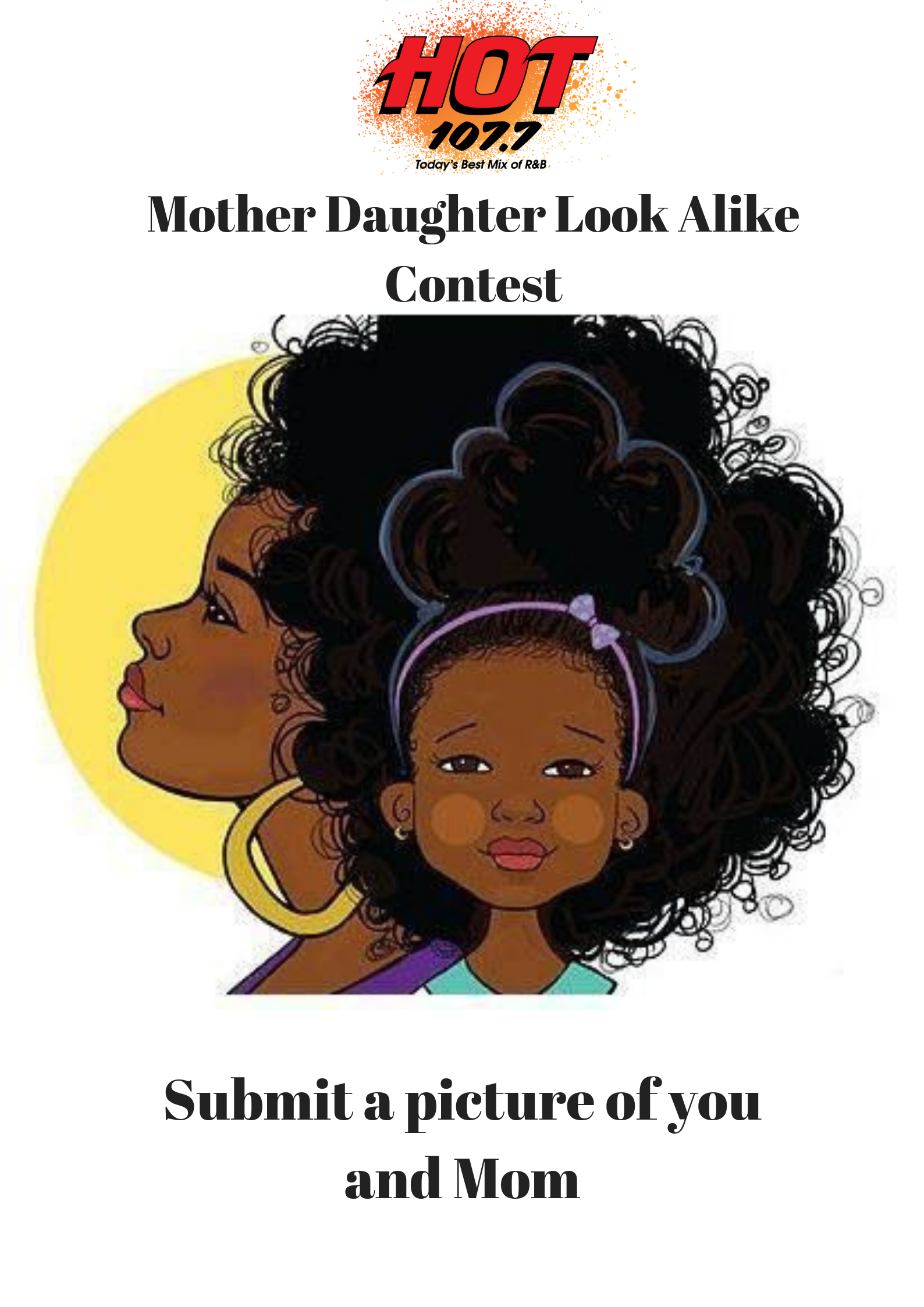 Mother Daughter Look Alike Contest