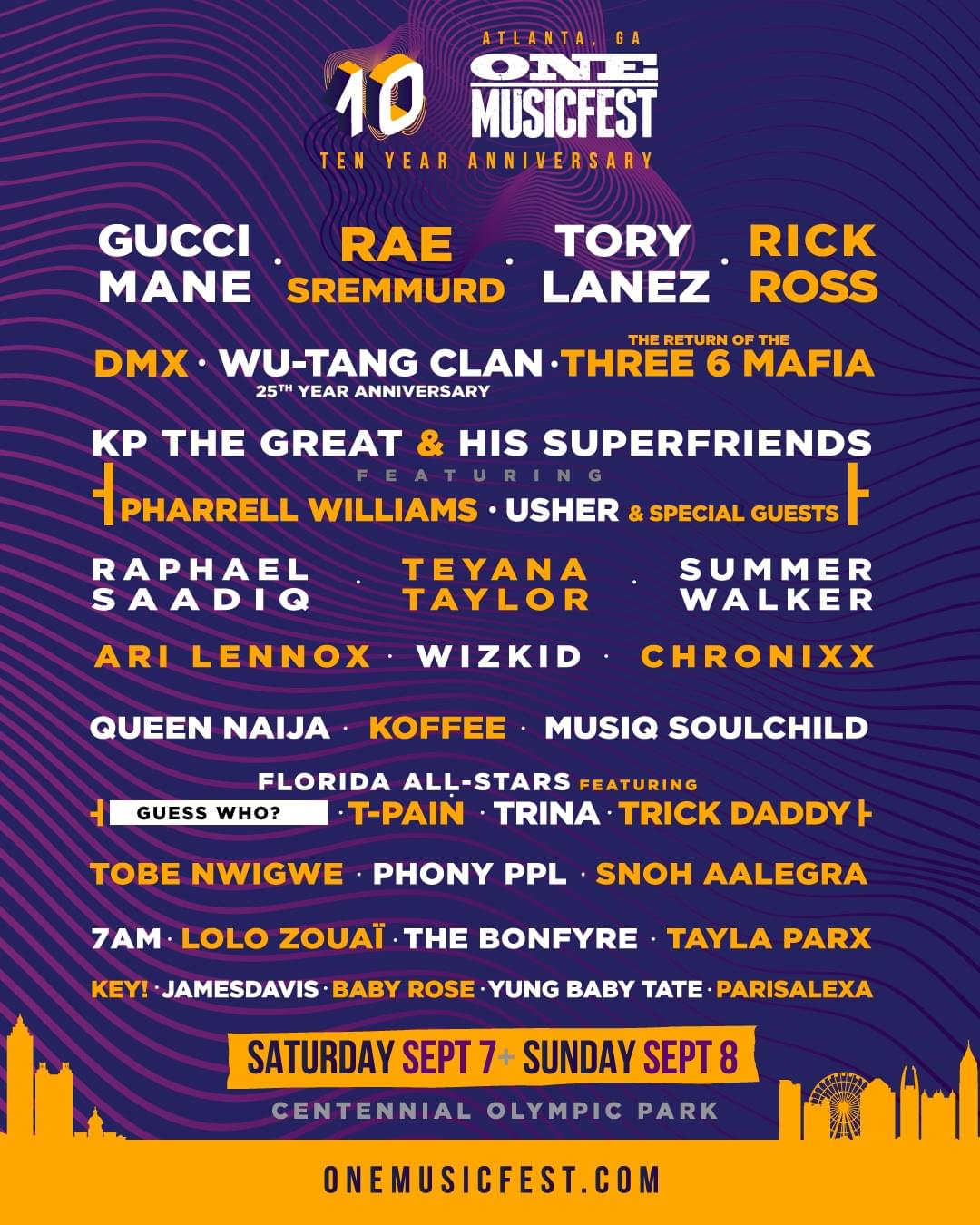 Win Tickets To One Music Fest In Atlanta