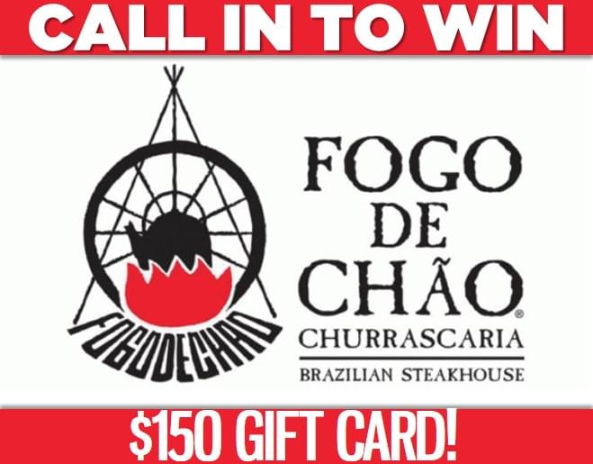 Win a $150 Gift Card to Fogo de Chao!