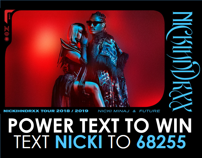 Text to Win Nicki Minaj & Future Tickets