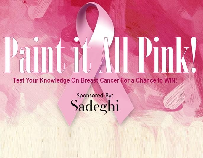 Paint it All Pink Breast Cancer Awareness Contest