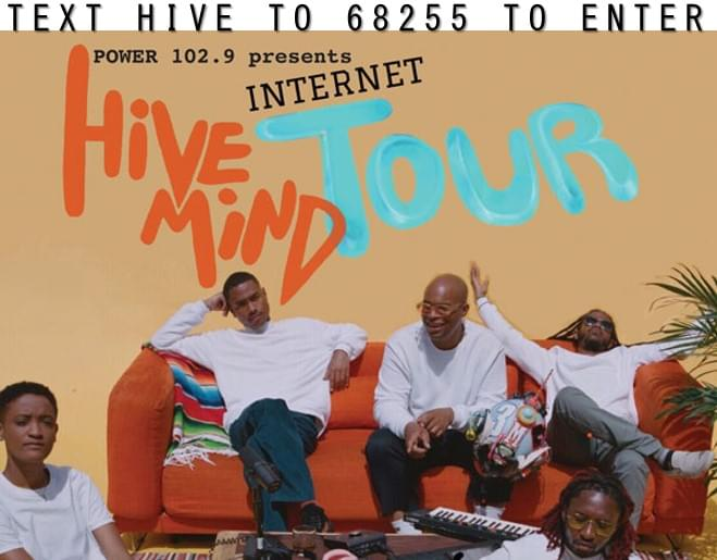 Text to Win Tickets to see THE INTERNET!