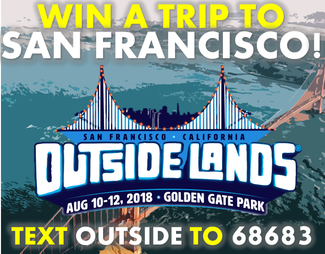 Win a Trip to San Francisco for Outside Lands 2018!