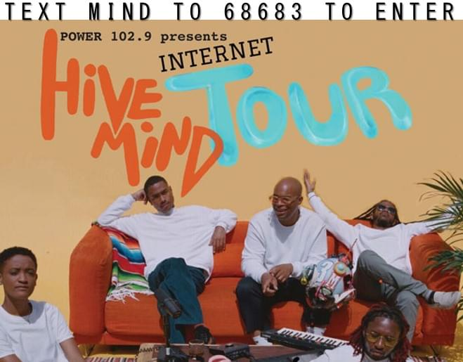 Text to Win Tickets to see THE INTERNET