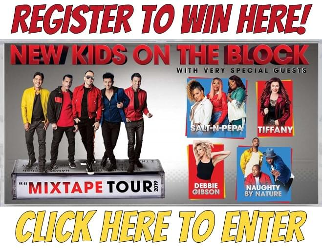 Register to Win NKOTB Tickets