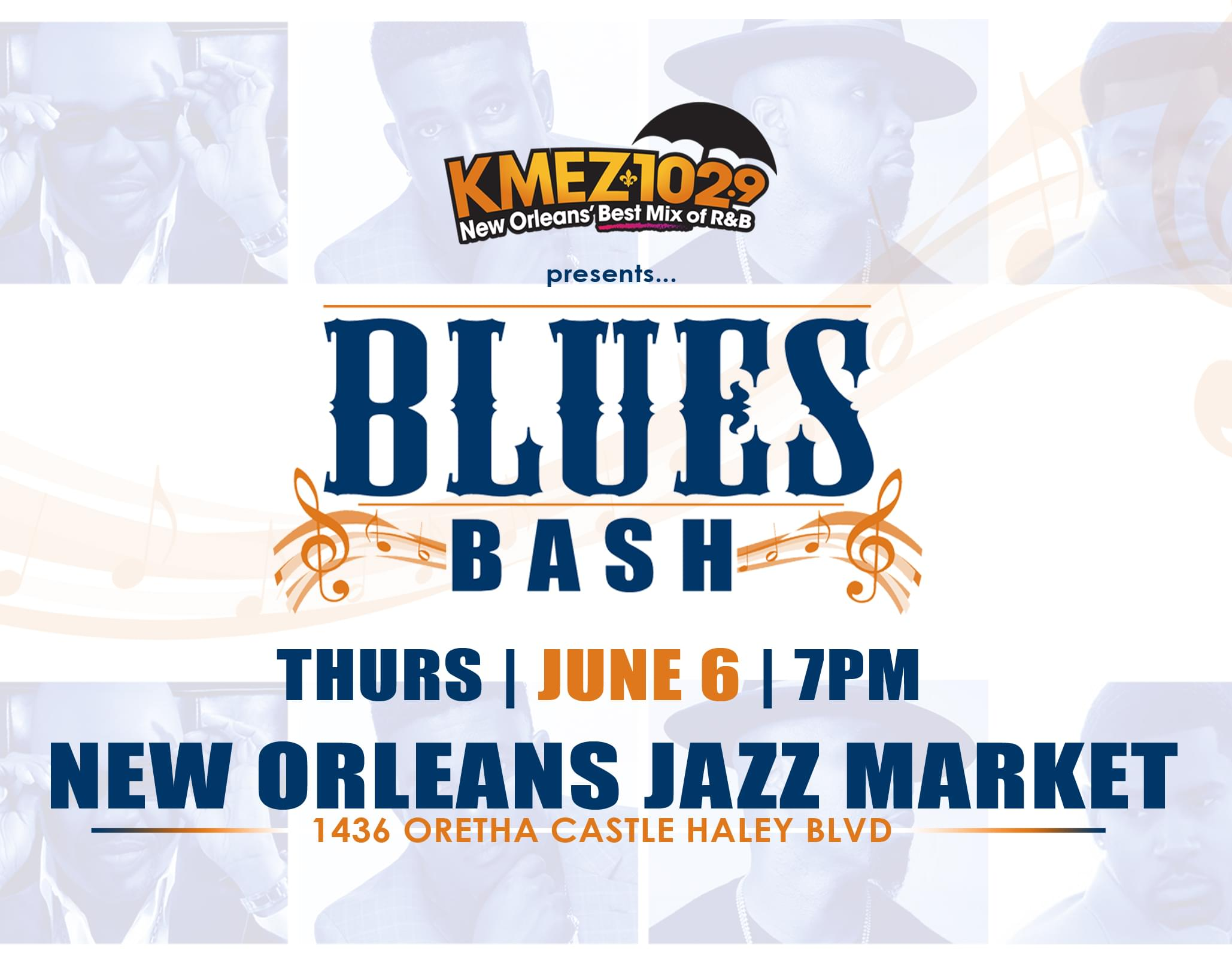KMEZ 102.9 Blues Bash