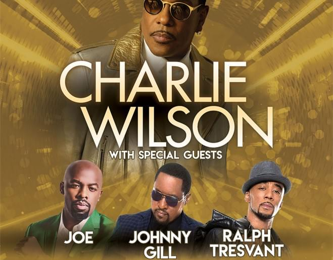 Win FLOOR SEATS to see Charlie Wilson