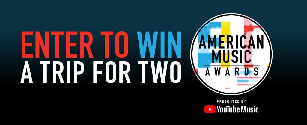 CONTEST: Win a trip to the 2018 AMAs