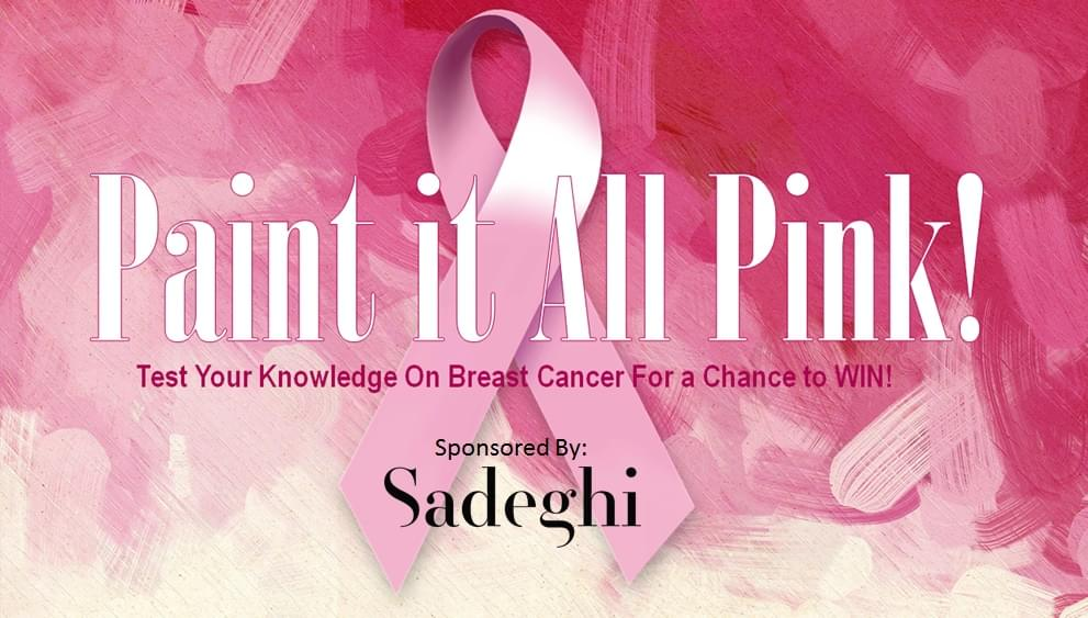CONTEST: Paint it All Pink