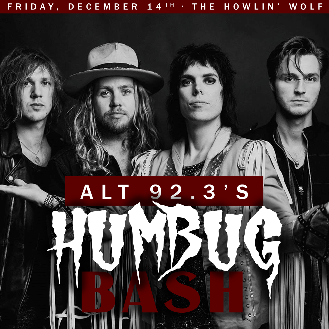 Friday 12.14.18  The Struts  @ The Howlin' Wolf