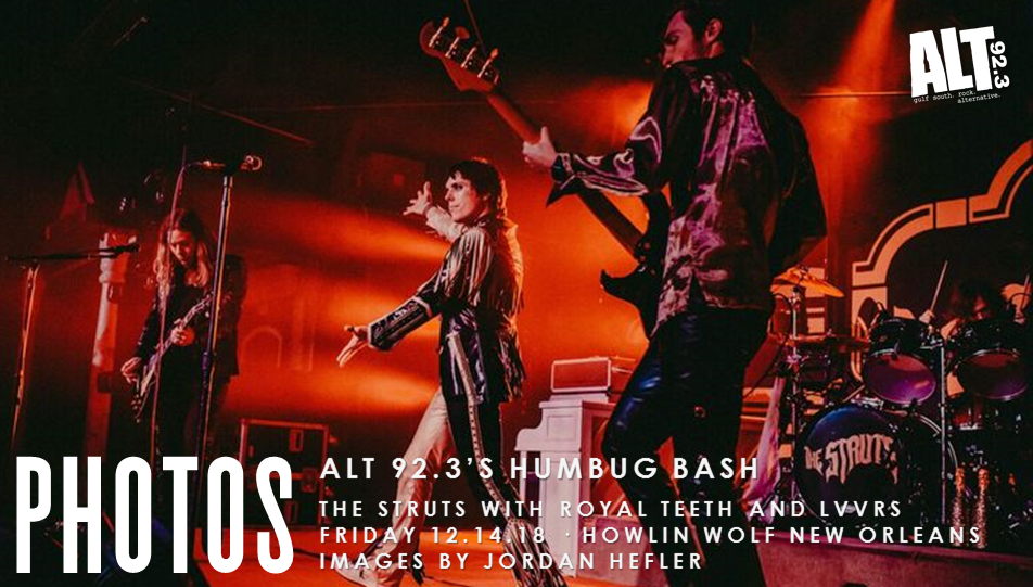 PHOTOS: ALT 92.3 Humbug Bash with The Struts 12.14.18