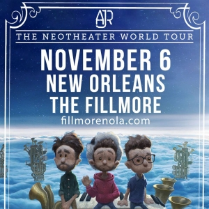 Wednesday 11.6.19  AJR   @ The Fillmore