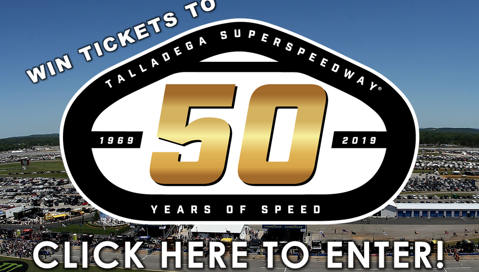 Win Tickets to Talladega Experience!