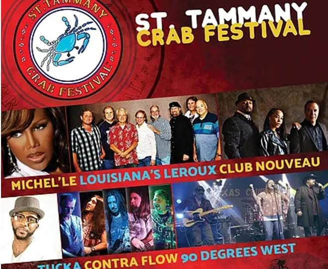 Win Tickets: ST. TAMMANY CRAB FESTIVAL