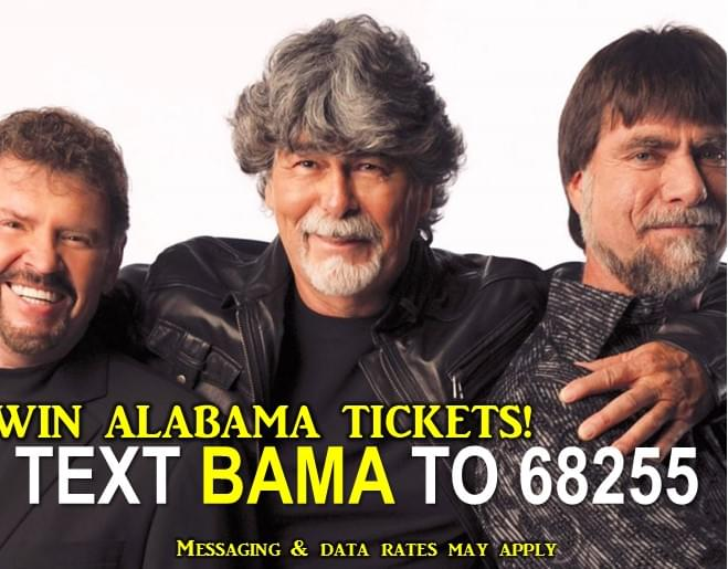 Text to Win ALABAMA Tickets!