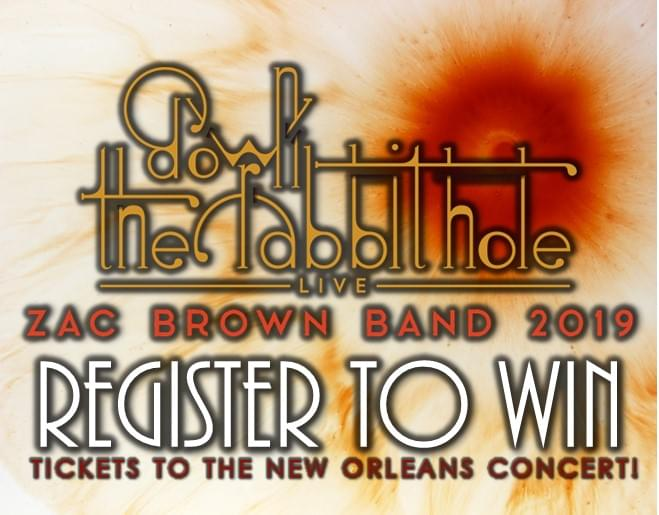 Win Tickets to see THE ZAC BROWN BAND
