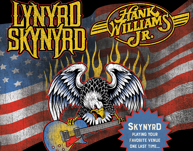 Win Lynyrd Skynyrd/Hank Williams Jr. Tickets