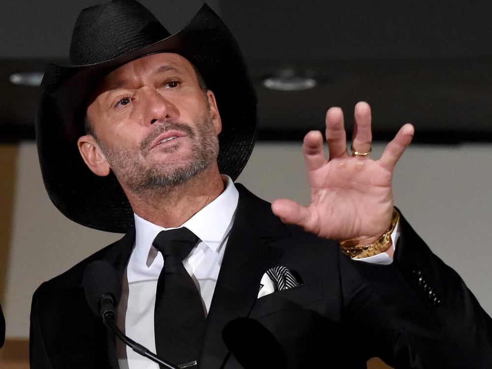 Tim McGraw Announces New Book Tour With Performances