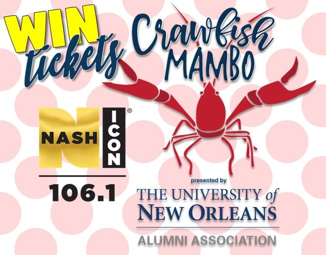 Win Crawfish Mambo Tickets