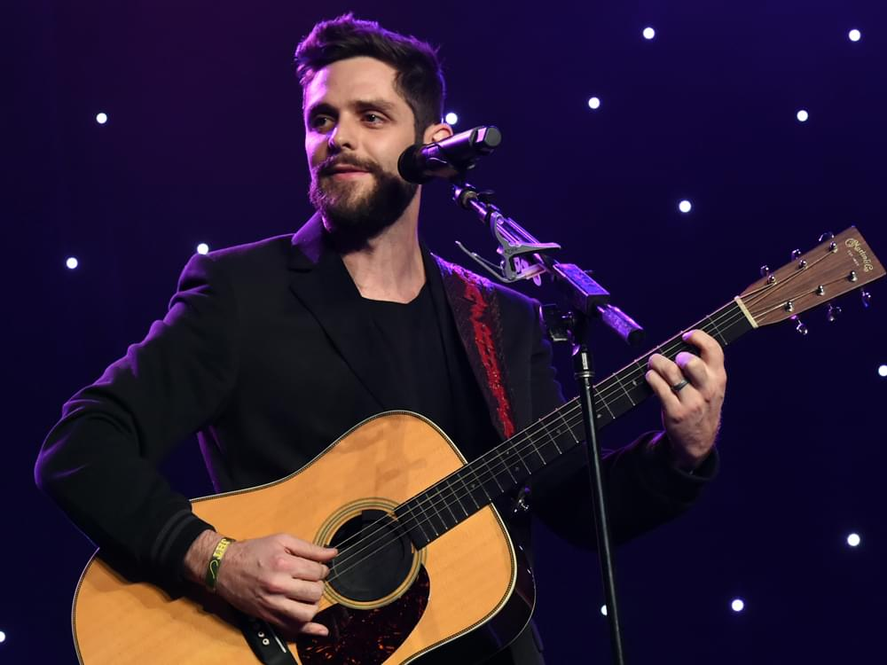 """Thomas Rhett Reminisces About His First Truck """"Fergie"""" That Inspired New Song, """"That Old Truck"""""""