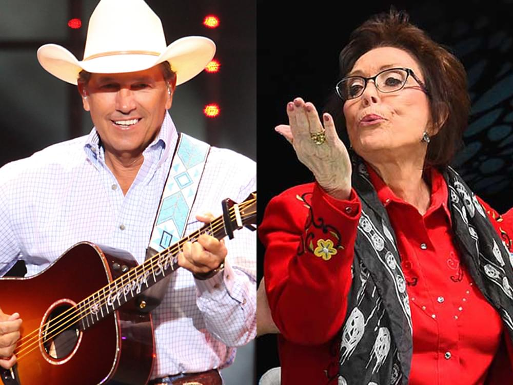 Loretta Lynn & George Strait to Be Honored at Nashville Songwriter Awards [Performers Include Reba, Dierks, Sam Hunt & More]