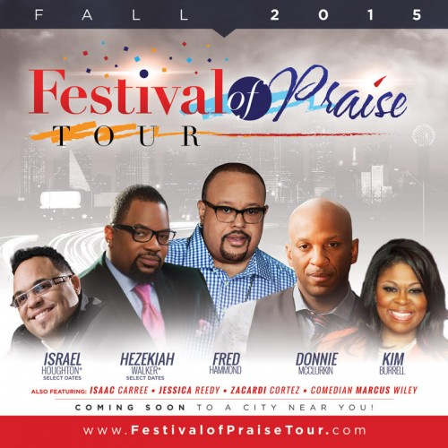Festival of Praise 2015 Tour COMING TO BRLA