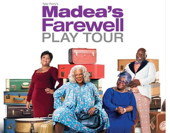 Win Tickets to Madea's Farewell Play Tour