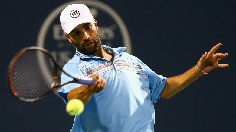 James Blake tackled by NYPD