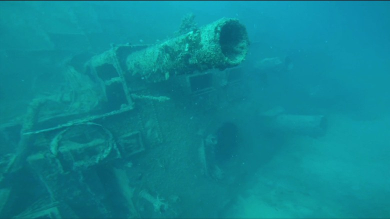 Sunken WWII U.S. Navy ship found after nearly 58 years